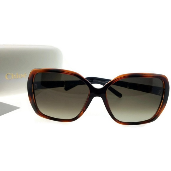 39296aaa2fa CE680S-219-58 Square Women Tortoise Sunglasses NWT. NWT. Chloe